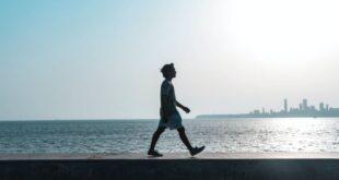 Foto de capa do texto sobre Mindful Walking